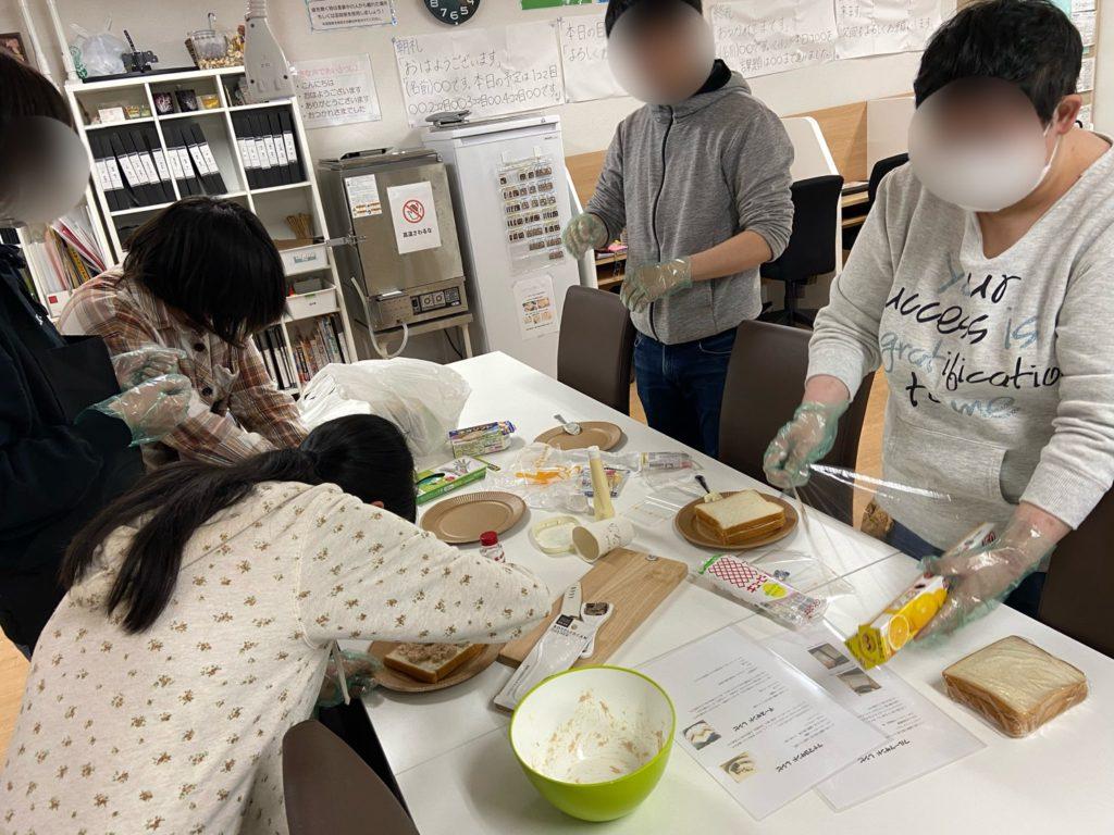 サンドウィッチイベント①画像